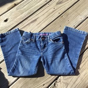 Children's Place Size 5 Bootcut Blue Jeans